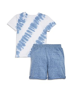 Splendid - Boys' Tie-Dyed Tee & Drawstring Shorts Set - Little Kid