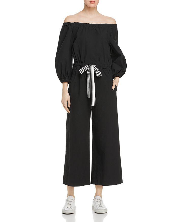 Marella - Adorato Off-the-Shoulder Drawstring Jumpsuit
