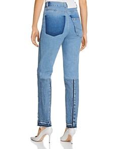 Ksenia Schnaider - Demi-Denims High-Rise Jeans in Medium Blue