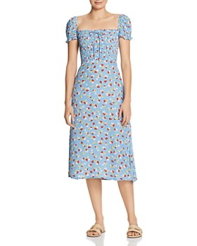 Faithfull the Brand - Castillo Floral Midi Dress
