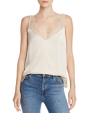 Cami Nyc Tops ARIANNA LACE-EDGED CAMISOLE