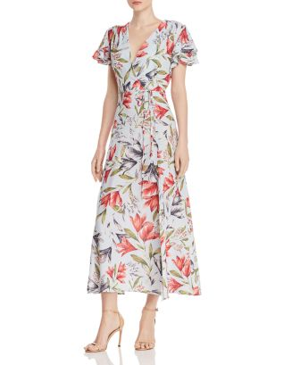 Cadencia Cari Floral Maxi Dress by French Connection