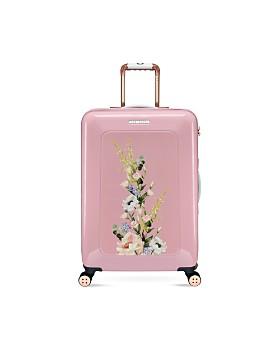 Ted Baker - Elegant Pink 4-Wheel Trolley Case, Medium