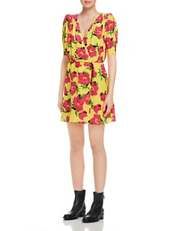 The Kooples - Pivoine in Love Floral Silk Dress