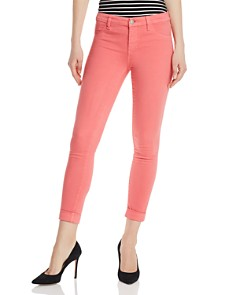 J Brand - Alana Sateen Skinny Jeans in Glare - 100% Exclusive