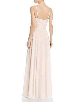 AQUA - Embellished Chiffon Gown - 100% Exclusive