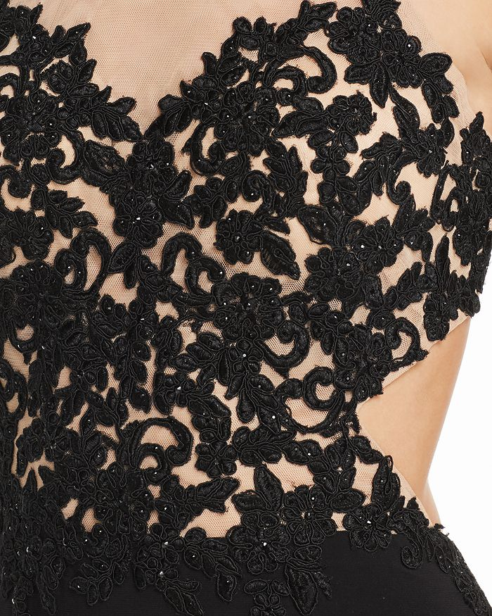 8f0b1c73 Avery G Embroidered Illusion Gown   Bloomingdale's