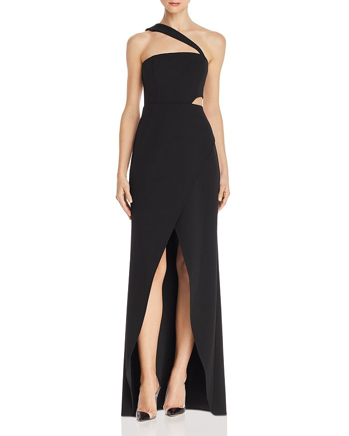 462b731661f06 BCBGMAXAZRIA One-Shoulder Cutout Gown - 100% Exclusive | Bloomingdale's
