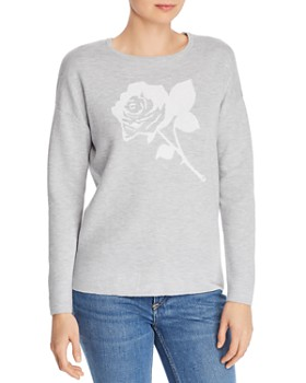Minnie Rose - Rose Intarsia Sweater