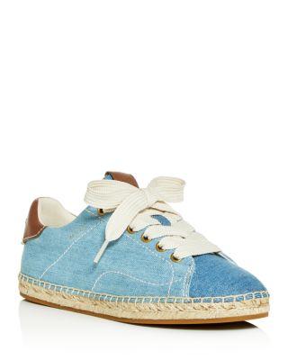 C101 Low-Top Espadrille Sneakers
