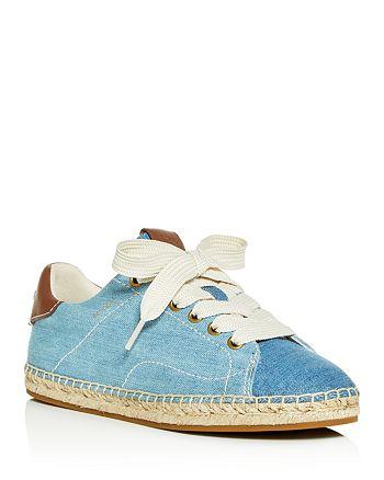 COACH - Women's C101 Low-Top Espadrille Sneakers