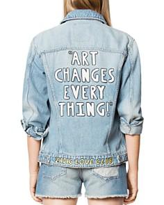 Zadig & Voltaire - Kase Embellished Denim Jacket