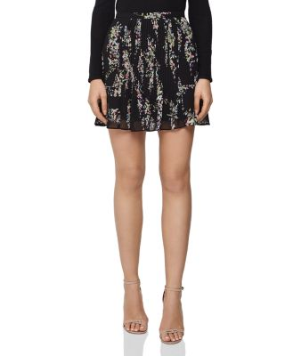 Belia Floral Mini Skirt by Reiss