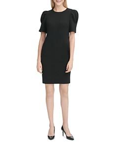 Calvin Klein - Puff-Sleeve Dress