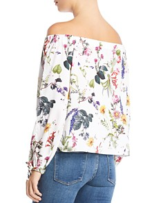 Bailey 44 - Tarte Tatin Floral Off-the-Shoulder Top