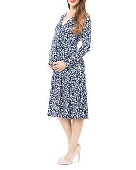 Nom Maternity - Tessa Nursing Wrap Dress