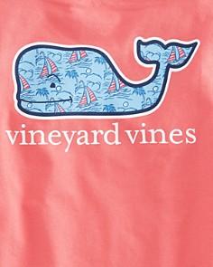 Vineyard Vines - Boys' Sailboat Whale Tee - Little Kid, Big Kid