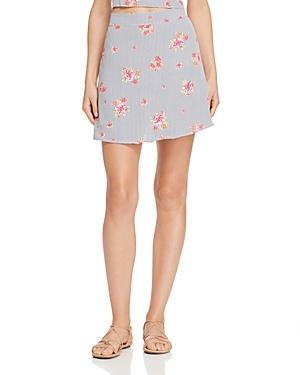 Flynn Skye Floral Mini Skirt