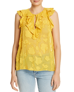 Joie Tops EDDISON EMBROIDERED TOP