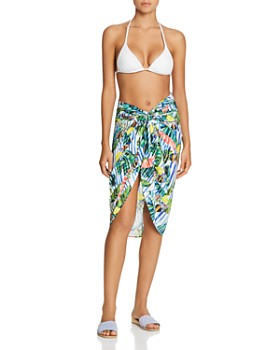 Red Carter - Gabi Sarong Skirt Swim Cover-Up
