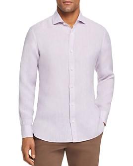 Z Zegna - Washed Linen Regular Fit Sport Shirt - 100% Exclusive