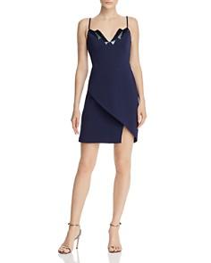 BCBGMAXAZRIA - Sequined Crepe Dress