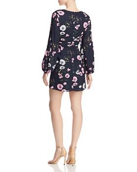 Keepsake - Darkness Floral Mini Dress