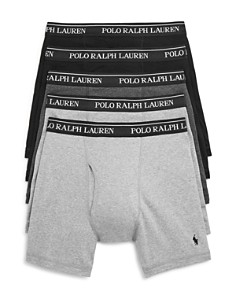 Polo Ralph Lauren - Classic Fit Boxer Briefs - Pack of 5