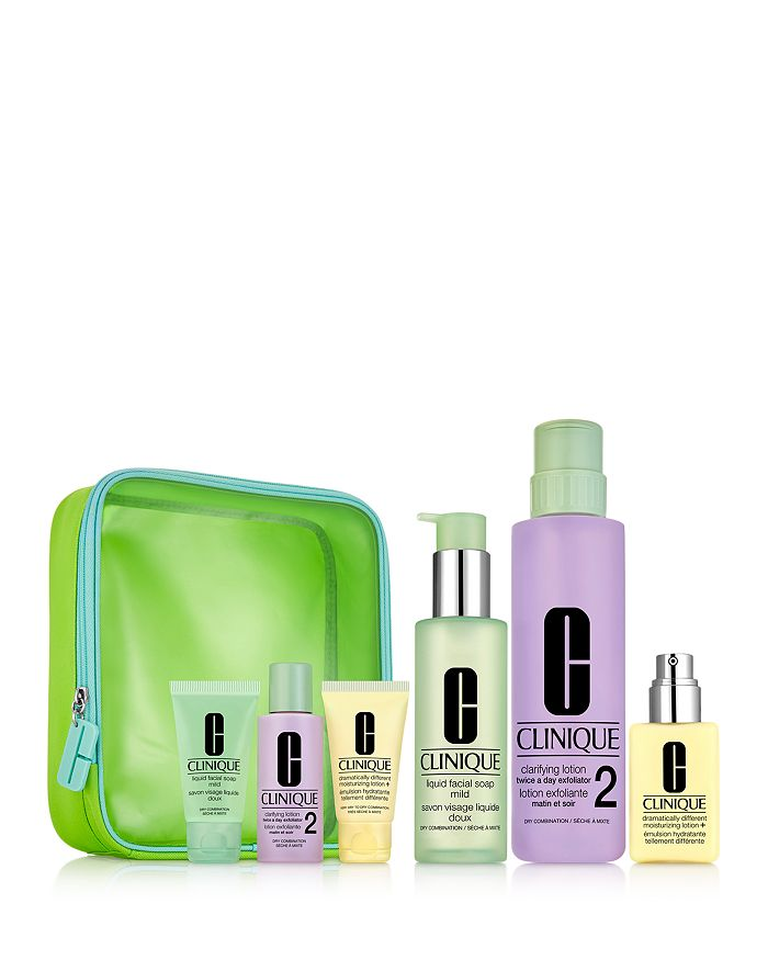 Clinique - Great Skin Everywhere: 3-Step Skin Care Gift Set for Dry Skin ($94 value)