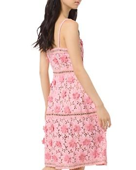 MICHAEL Michael Kors - Floral-Appliqué Lace Dress