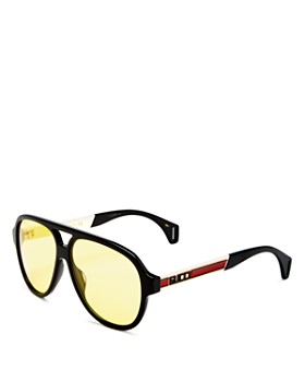 07465d843aa Gucci - Men s Brow Bar Aviator Sunglasses