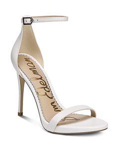 cb94a1ce50 Women's Hooper Embellished Satin High Block Heel Sandals. Even More Options  (5). Tabitha Simmons. Tabitha Simmons. Now $208.43 · Sam Edelman