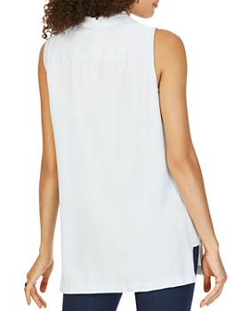 Foxcroft - Arquette Sleeveless Tunic Shirt