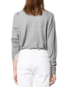 Zadig & Voltaire - Gaby Embellished Cashmere Sweater