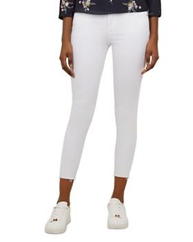 14e2aca1a Ted Baker - Catarsi Raw-Hem Skinny Jeans in White ...