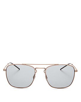 Ray-Ban - Unisex Brow Bar Square Sunglasses, 55mm