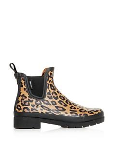 Tretorn - Women's Lina Leopard-Print Rain Booties