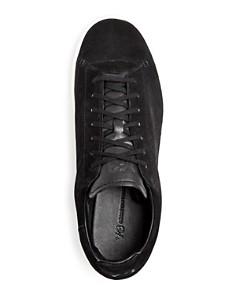 Y-3 - Men's Yohji Court Suede Low-Top Sneakers