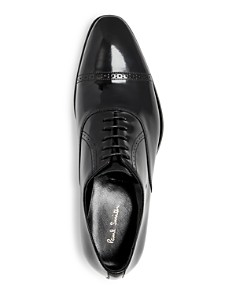 Paul Smith - Men's Lord Leather Cap-Toe Oxfords