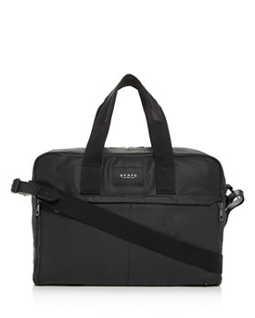 STATE - Coated Canvas Preston Briefcase