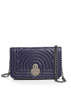 daede1f02fbd3 Longchamp - Cavalcade Leather Chain Wallet ...