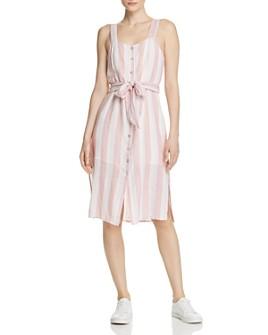 Rails - Clement Striped Button-Front Dress