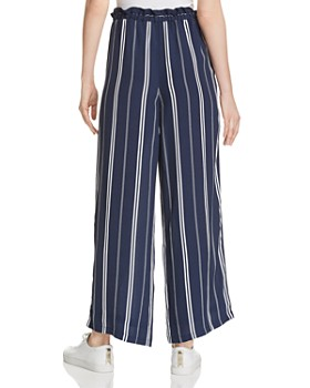 Rails - Rooney Paperbag-Waist Striped Pants