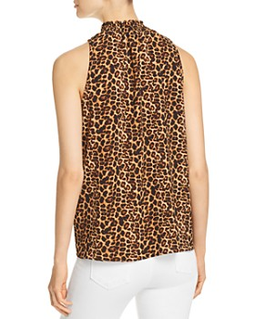 Status by Chenault - Sleeveless Leopard-Print Top