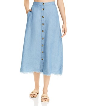 Show Me Your MuMu - Sharon Chambray Skirt