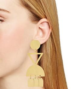 Area Stars - Geometric Drop Earrings