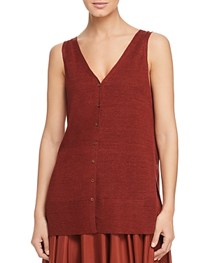 Lafayette 148 Knits SLEEVELESS KNIT TOP