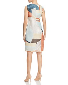 Lafayette 148 New York - Taren Printed Linen Sheath Dress