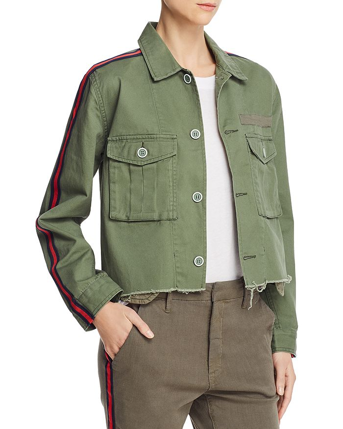 Pistola - Camilo Cropped Military Jacket - 100% Exclusive