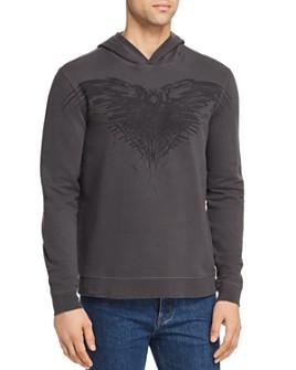 John Varvatos Star USA - x Game of Thrones Three-Eyed Raven Hooded Sweatshirt